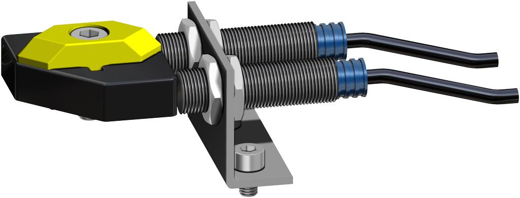 Atuador pneumático de efeito duplo GD em alumínio  - acessórios - INTERRUPTORES DE LIMITE DE PROXIMIDAD