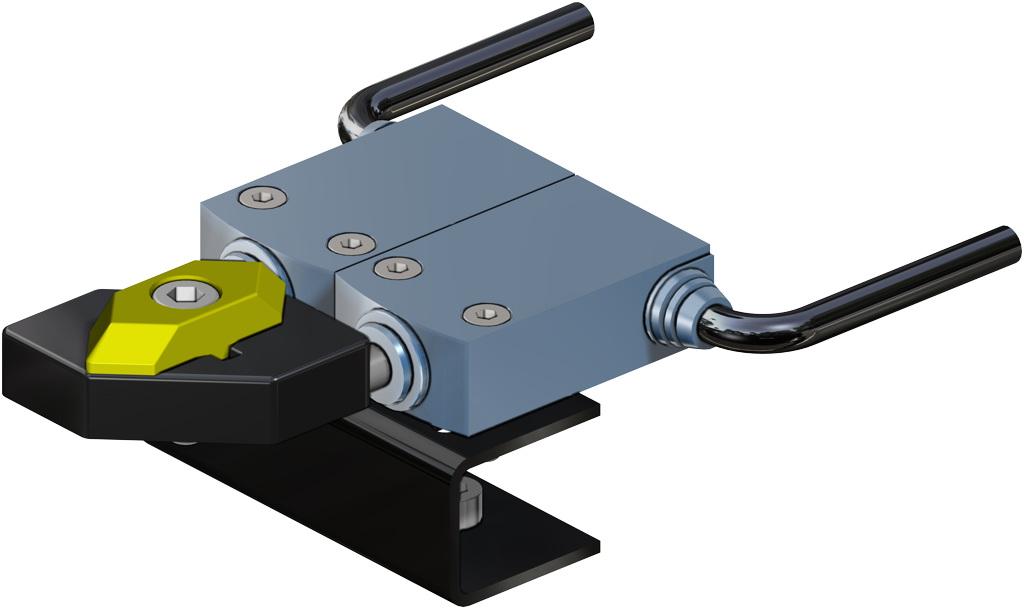 Atuador pneumático de efeito duplo GD em alumínio  - acessórios - INTERRUPTORES DE LIMITE ELETROMECÂNICOS