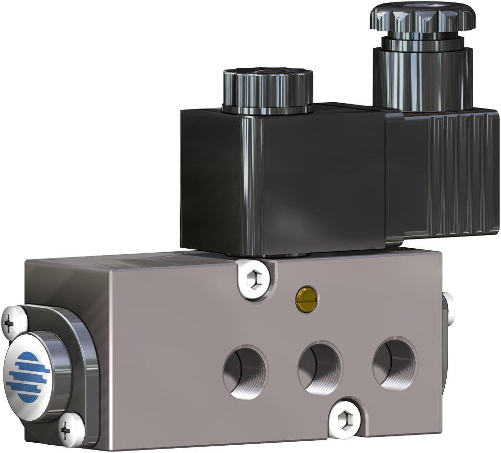 Atuador pneumático de efeito duplo GD em alumínio  - acessórios - ELETROVÁLVULAS NAMUR
